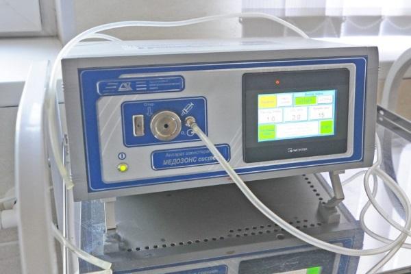 Аппарат для проведения озонотерапии