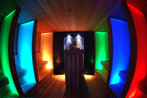 Комната для проведения цветотерапии