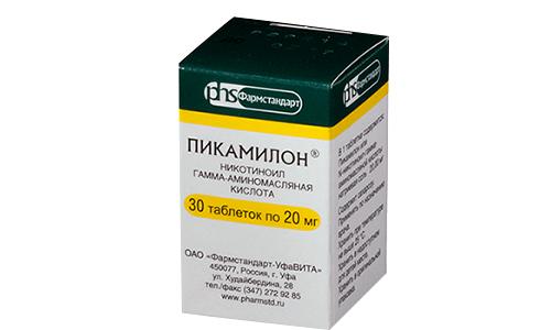 Транквилизатор Пикамилон проявляет эффективность при таких патологических процессах, как: хронический алкоголизм, глаукома, снижение адаптационных свойств мочевого пузыря