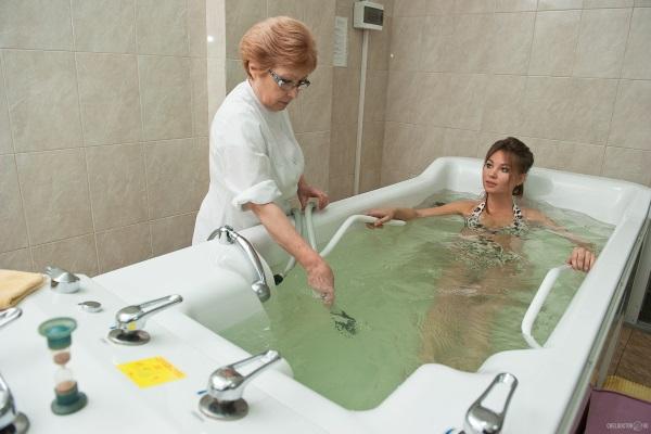 Длительность скипидарной ванны зависит от переносимости