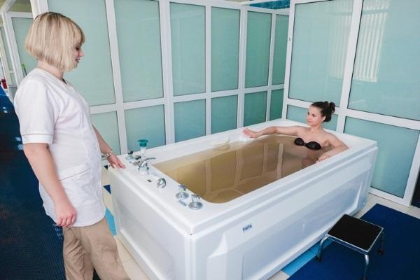Бальнеотерапия, рапная ванна