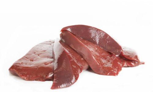 Свиная печень - тяжелый продукт для желудочно-кишечного тракта