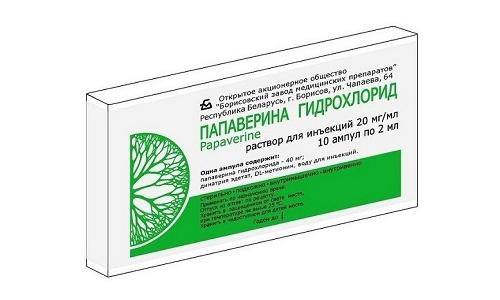 Как влияет Папаверин при беременности и лактации не установлено, потому препарат не стоит принимать