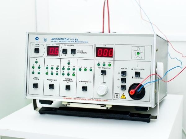 Аппарат для лечебного воздействия модулированными синусоидальными токами звуковой частоты
