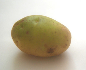отказ от зеленого картофеля