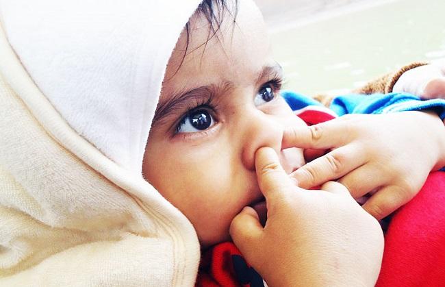 Герпес в носу у детей