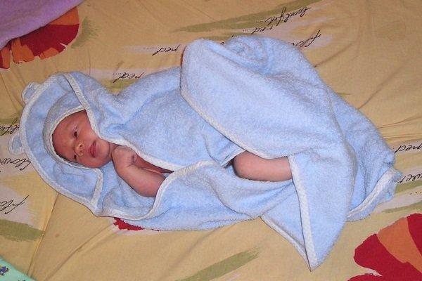 После ванны малыши лучше спят