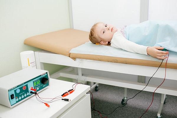 Проведение электрофореза ребенку