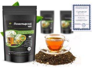 пачка Монастырского антипаразитарного чая