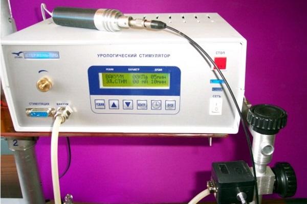 Стержень-ПРО для трансуретральной фотоэлектростимуляции предстательной железы
