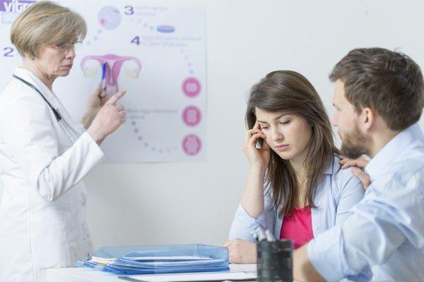 На приеме у репродуктолога по поводу бесплодия