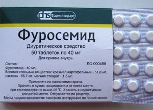 как применять препарат Фуросемид