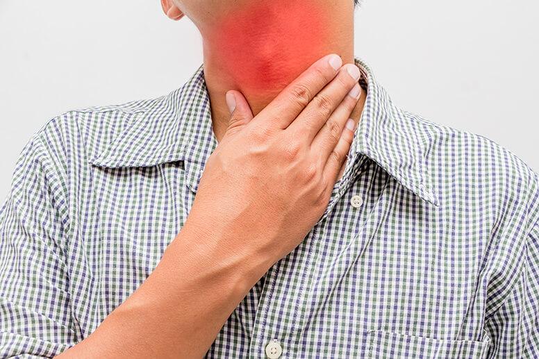 Лечение и первая помощь при отеке горла